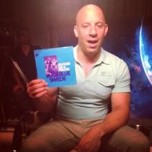Även Vin Diesel är Hooked On A Feeling!