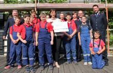 Im Einsatz für Bärenherz: Jugendfeuerwehr Sachsen engagiert sich für das Kinderhospiz