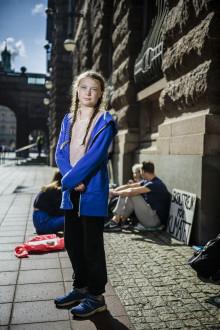 Greta Thunberg utsedd till Årets unga förebild