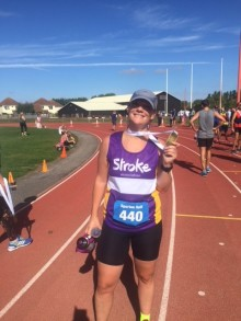 Jersey resident tackles New York Marathon for the Stroke Association