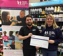 Sheffield Co-ops raise over £3,000 for The Sick Children's Trust