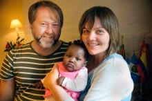 Første adopsjon fra Mali er gjennomført