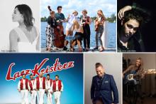 Här är programmet för Musik på Larmtorget 2016!