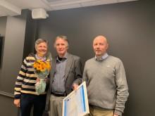 Vannprisen 2019 til Steinar Muri