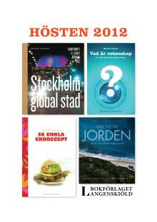 Höstens böcker 2012
