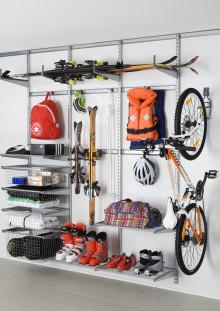 Aktivt liv kräver utrymme för din sportutrustning