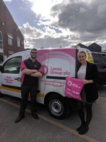 Lanes Group Plc announce five year partnership with The Sick Children's Trust