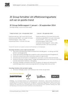Delårsrapport januari - sept 2014