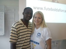 Futebol dá força lanseras i Zambia