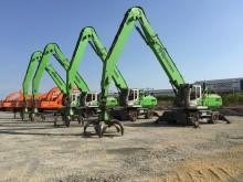 Umschlagbagger im Stahlwerk: IS VINA in Vietnam ist für die Inbetriebnahme des neuen Werks gerüstet