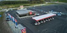 Circle K öppnar ny station i Göteborg med utökad service för yrkestrafik