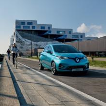 Nya Renault ZOE - TAR 100 % ELDRIFT TILL EN NY NIVÅ
