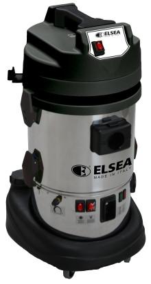 Kombinerad ångtvätt och grovdammsugare för proffsig biltvätt och rekonditionering