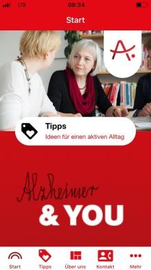 """""""Alzheimer & YOU – den Alltag aktiv gestalten"""": Eine App für Angehörige von Menschen mit Demenz"""