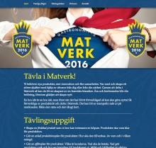 Smakjury och marknadsjury utser riksfinalister i den innovativa produktutvecklingstävlingen Matverk 2016