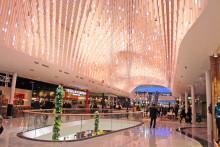 Unik tak-  och ljuslösning till Mall of Scandinavia