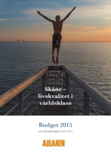 Budget Region Skåne 2015