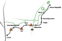 Bygget av spårvägen startar den 7 mars