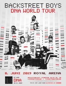 BACKSTREET BOYS ANNONCERER STØRSTE ARENA-TOUR I 18 ÅR OG KOMMER TIL ROYAL ARENA LØRDAG 8. JUNI 2019
