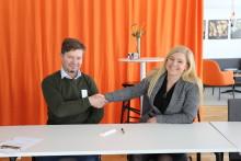 Borås Energi och Miljö skriver kontrakt med Kanonaden AB gällande finplaneringen på Sobacken.
