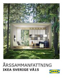 IKEA Sverige årssammanfattning 2015
