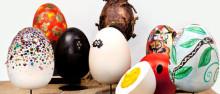 Ägg för drygt 45 000 kronor till kampen mot fattigdom