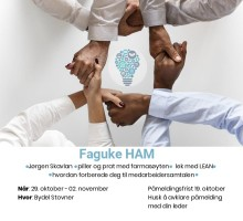 Fem ting å vite om Faguke for medarbeidere i Helse, aktivitet og mestring (HAM)