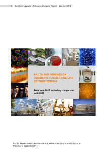 Stockholm-Uppsala Life Science Facts and Figures 2011-2012