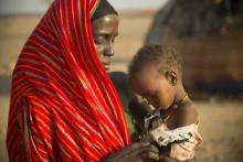 Akut hungersnöd i Östafrika  - Barnfonden är med och bidrar