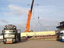 Infranordic Forwarding & Shipping AB transporterar sin historiskt längsta sändning med flyg!