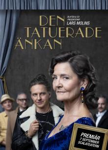 Lars Molins Den tatuerade änkan för första gången som teaterföreställning, premiär 7 september i Stockholm