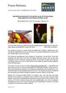 New Rescue Highlights Life-Saving Value of Ocean Signal rescueME EDF1