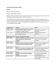 Program och deltagare ARUS