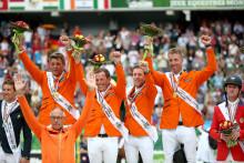 Guldcoachen hyllar Gothenburg Horse Show