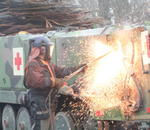 200 pansarbandvagnar återvinns hos Stena