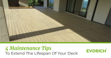 4 Maintenance Tips To Extend The Lifespan Of Your Deck