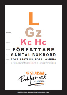 Berättelser som berör - årets tema på Kristianstad bokfestival