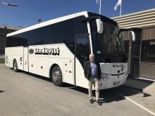 Entreprenören Johan Ekman förvärvar det anrika bussbolaget Lindkvist Buss