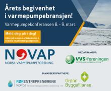 Varmepumpekonferansen 2016:  8.-9. mars