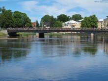 Västra bron öppnar för tung trafik igen