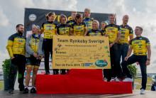 Skånska Byggvaror blir nationell sponsor till Team Rynkeby och kampen mot barncancer