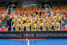 Ingenting kan stoppa Sverige - gick obesegrade genom Euro Floorball Tour