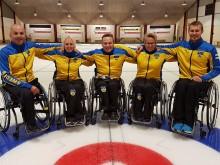 Curlingtruppen klar till Paralympics 2018