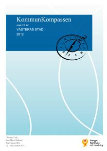 Rapport Kommunkompassen 2012