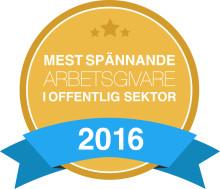 Växjö kommun är en av Sveriges mest spännande arbetsgivare