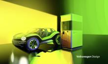 Volkswagens powerbank för elbilar visas upp i Genève