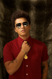 "Bruno Mars albumaktuell med nya plattan ""Unorthodox Jukebox"""