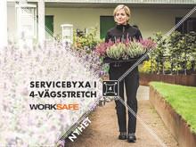 Flexibilitet i ny form - skönaste stretchbyxan någonsin från Worksafe!