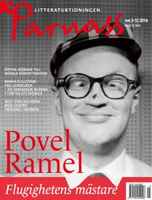 Stor Povel Ramel-special i sommarnumret av Parnass!