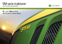 John Deere 5 M Serie traktorer
